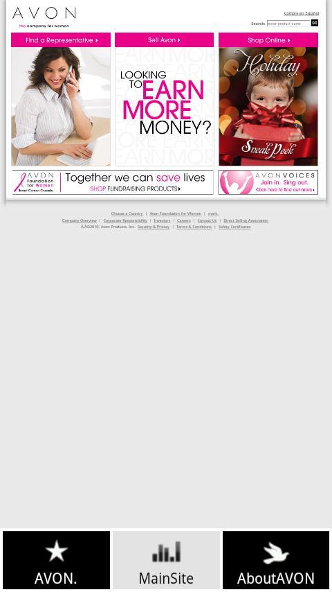 My Avon App avon products