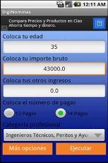DigiNomina- payroll calculator