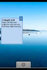 Scripture A Day Widget (LDS) scripture memory