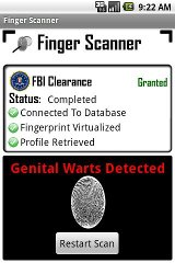 Fingerprint - Finger Scanner finger fingerprint screen