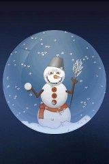 aiCrystalBall Snowman wma