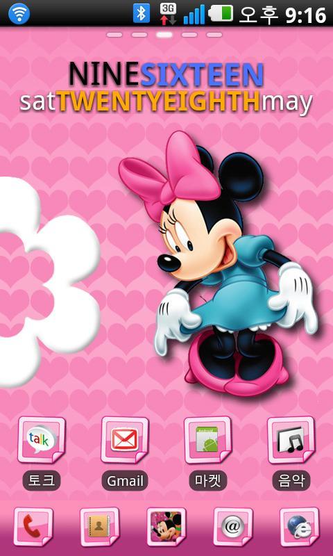 Minnie Mouse GO Launcher minnie mouse games
