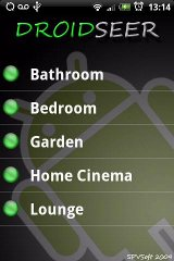 DroidSeer X10 Home Automation automation home theme
