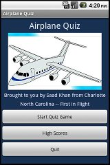 Airplane Quiz