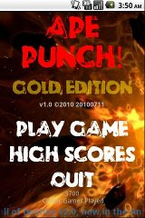 APE Punch Gold Edition