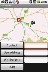 GPS Notifier notifier