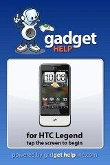 HTC Legend - Gadget Help htc