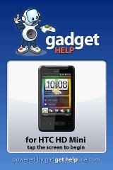 HTC HD Mini - Gadget Help help