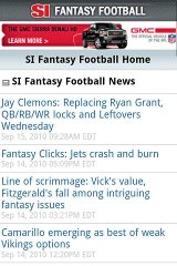 SI Fantasy Football barclays fantasy football