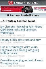 SI Fantasy Football barclays fantasy football