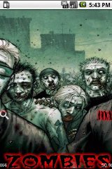 Zombie theme christmas theme zombie