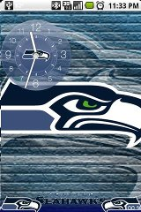 Seahawks for Open Home home open theme