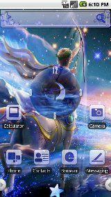 HD Theme:Starry Sky