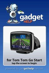 Tom Tom Go Start - Gadget Help help