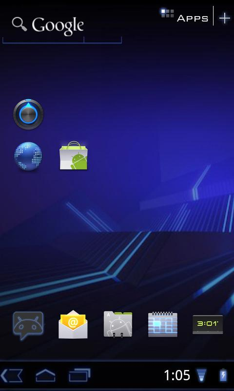 HCL+ Launcher ultimate honeycomb