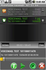 how to download voicemail android