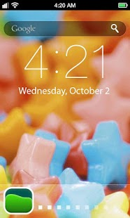 Candy Lock Screen Wallpaper