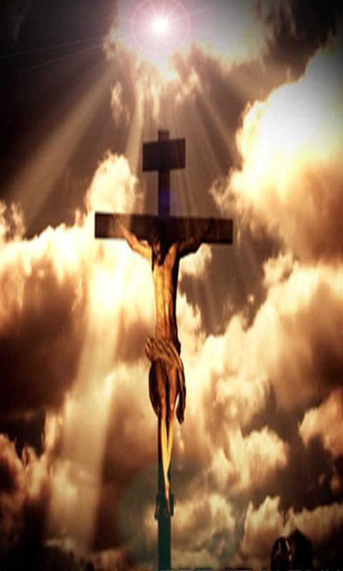 Jesus on the cross catholic LW jesus on cross stereogram