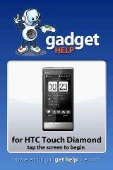 HTC Touch Diamond Gadget Help htc