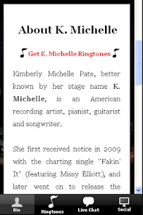 K. Michelle Ringtones & More