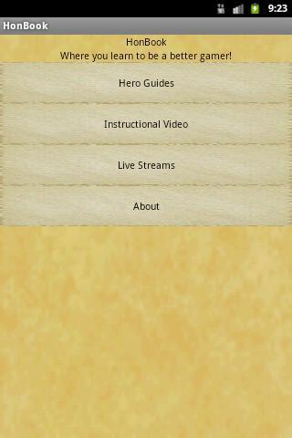 HoN Content Book content idea music