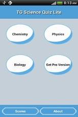 TG Science Quiz Lite