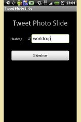 Tweet Photo Slide photo slide widget