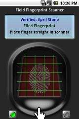 Fingerprint Scanner fingerprint id