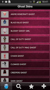 Ghost Skins Fro Minecraft-Free