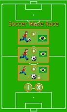 Fútbol Maze Race