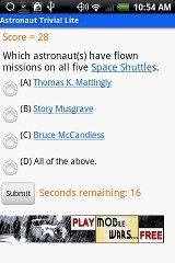 Astronaut Trivia | RM.