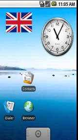 Union Jack Sticker Widget