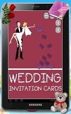 Wedding Party Invitation Card