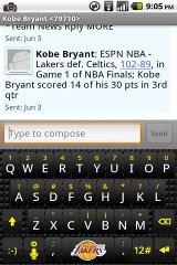 Lakers HTC Keyboard htc