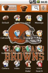 Theme: Cleveland Browns