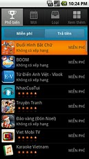 Vietnamese Apps phrasebook vietnamese