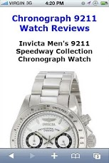 Chronograph 9211 Watch Reviews