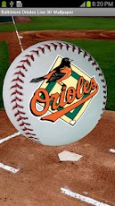 Baltimore Orioles 3D Wallpaper