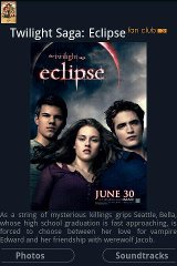 """Twilight Saga: Eclipse"" Fans file hanafi quot"