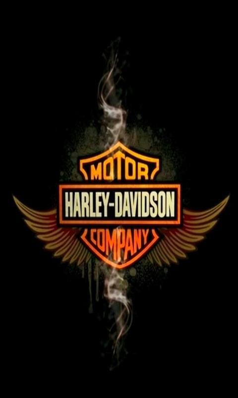 harley davidson logo wallpapers mobile images