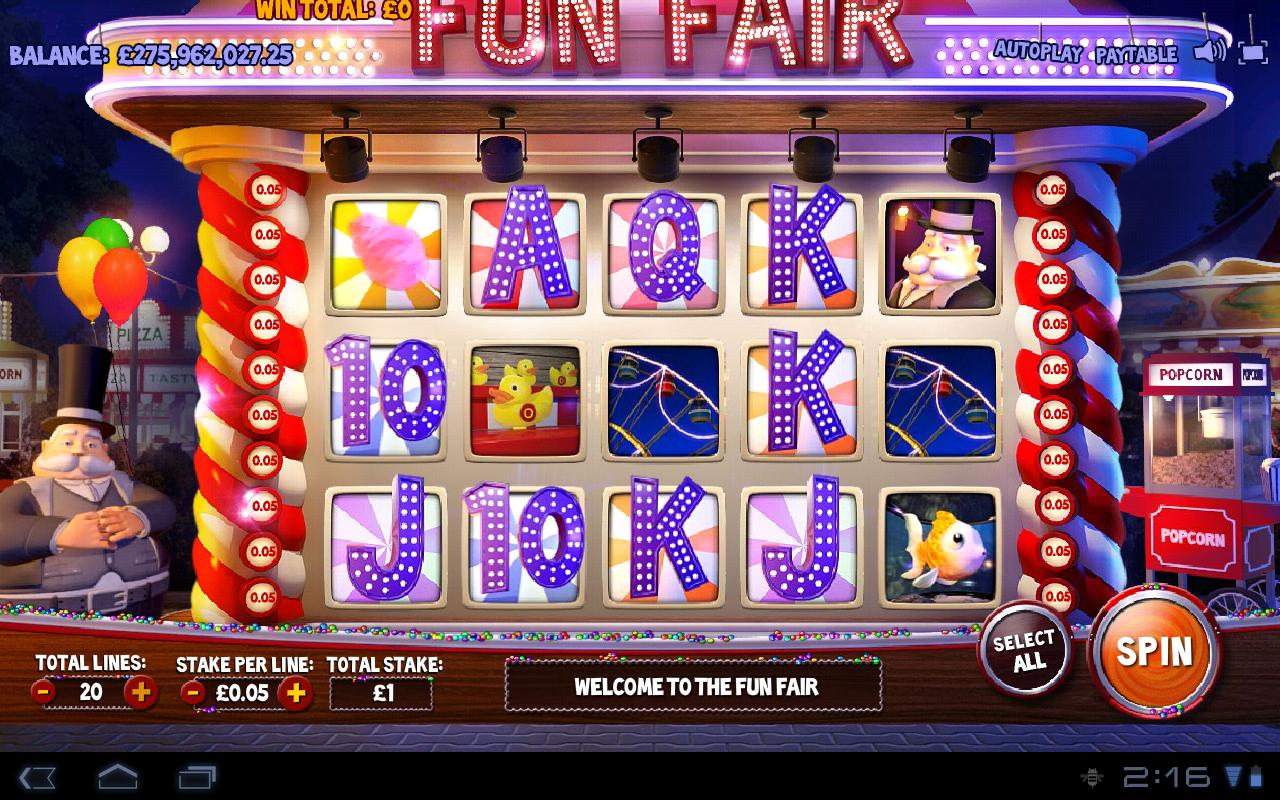 Fun Fair Vegas Slot Machine 2.0