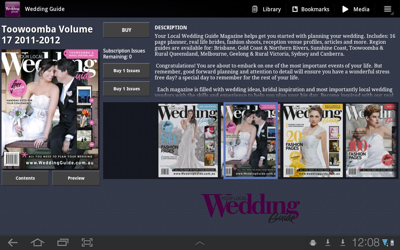 Your Local Wedding Guide guide local map