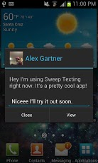 Sweep Texting