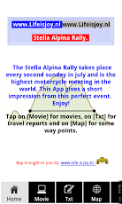 Stella Alpina motor meeting.