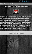 Video Downloader Pro yuotube video downloader