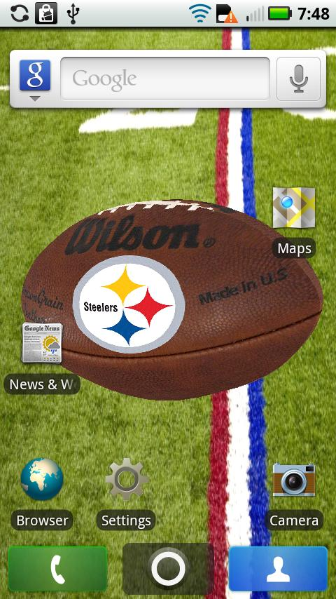 Steelers Live 3D NFL Wallpaper steelers wallpaper