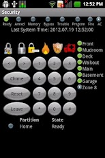 DSC Security Keypad