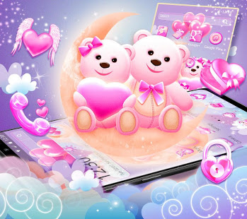 Cute Teddy Love Theme - Apps on Android App Penmouse Design | LucuTech