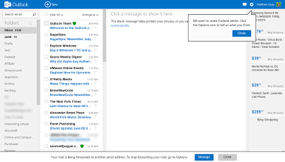 Outlook Webmail
