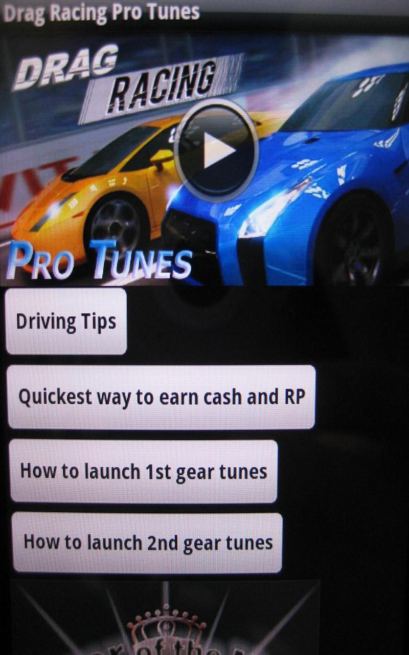 Drag Racing Pro Tunes
